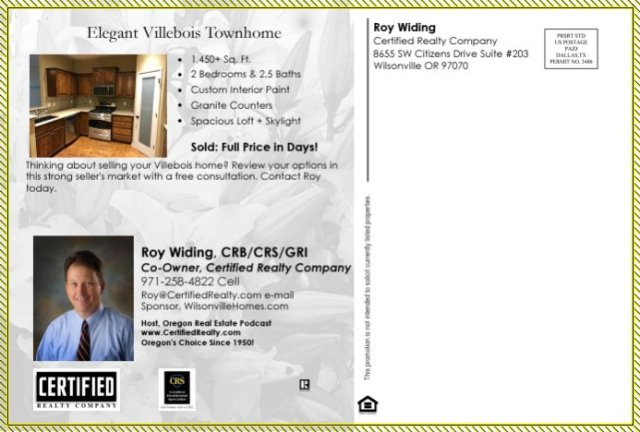 Wilsonvillle Homes, Wilsonville Real Estate, Wilsonville Homeseller